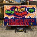 papan bunga lampung wedding